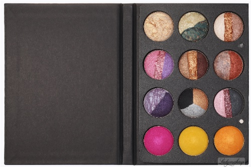 Karaja - Palette No. 76 Aquacolor - Paleta cieni do powiek