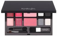 Karaja - LUXURY MAKEUP PALETTE FOR EYES-CHEEKS-LIPS - Paleta do makijażu - n°1