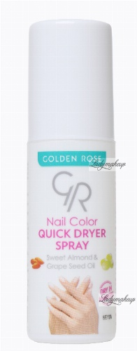 Golden Rose - Nail Lacquer - QUICK DRYER SPRAY