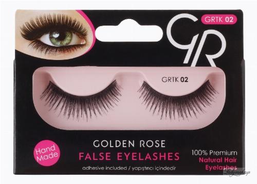 Golden Rose - FALSE EYELASHES - Sztuczne rzęsy