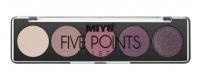 MIYO - FIVE POINTS EYESHADOW PALETTE - Paleta 5 cieni do powiek - 03 - OLD ROSE - 03 - OLD ROSE