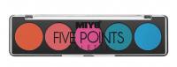 MIYO - FIVE POINTS EYESHADOW PALETTE - Paleta 5 cieni do powiek - 06 - CARNIVAL - 06 - CARNIVAL