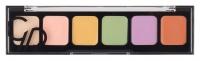 Golden Rose - CORRECT & CONCEAL - Camouflage Cream Palette - Korygująca i tuszująca paleta kamuflaży do twarzy