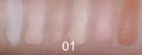 Golden Rose - CORRECT & CONCEAL - Concealer Cream Palette - Korygująca i tuszująca paleta korektorów do twarzy