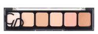 Golden Rose - CORRECT & CONCEAL - Concealer Cream Palette - Korygująca i tuszująca paleta korektorów do twarzy - 01 LIGHT TO MEDIUM - 01 LIGHT TO MEDIUM