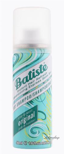 Batiste - Dry Shampoo - ORIGINAL - Suchy szampon do włosów - 50 ml