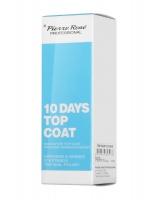 Pierre René - 10 DAYS TOP COAT - Innovative Top Coat - Preparat nawierzchniowy przedłużający trwałość manicure do 10 dni
