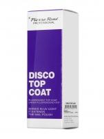 Pierre René - DISCO TOP COAT - Fluorescent Top Coat - Fluorescencyjny lakier nawierzchniowy
