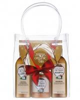 GlySkinCare - COCONUT ORGANIC OILS - Świąteczny zestaw kosmetyków do pielęgnacji włosów z olejem kokosowym (szampon, odżywka, maska)