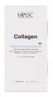 Pierre René - COLLAGEN - Silnie regenerująca 7-dniowa kuracja z aktywnym kolagenem i elastyną w ampułkach
