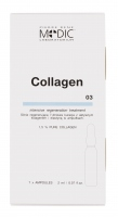 Pierre René - COLLAGEN - Highly regenerative 7-day treatment with active collagen and elastin in ampoules