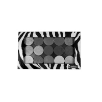 Z Palette - ULTIMATE CUSTOMIZABLE MAKEUP PALETTE - Duża paleta magnetyczna do kosmetyków - LARGE ZEBRA