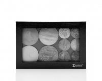 Z Palette - ULTIMATE CUSTOMIZABLE MAKEUP PALETTE - Paleta magnetyczna do kosmetyków wypiekanych - DOME BLACK