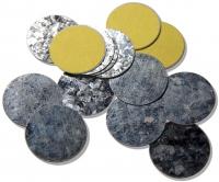 Z Palette - ROUND METAL STICKERS - Okrągłe naklejki magnetyczne - 30 sztuk