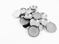 Z Palette - ROUND METAL PANS - Okrągłe puste wkłady do wypełniania - 20 sztuk