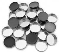 Z Palette - MINI ROUND METAL PANS - Mini okrągłe puste wkłady do wypełniania - 10 sztuk