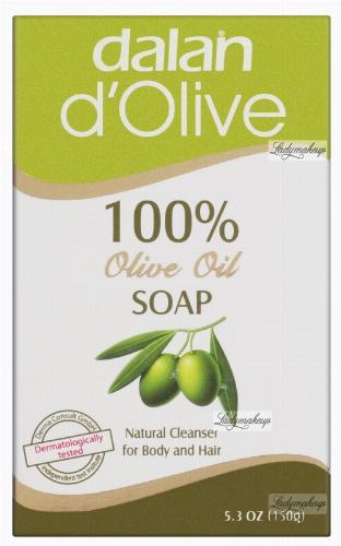 Dalan d'Olive - 100% oliwkowe mydło w kostce 25g