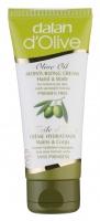 Dalan d'Olive - Oliwkowy nawilżający krem do ciała i rąk - 75 ml - REF. 00252