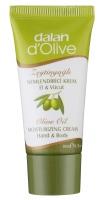 Dalan d'Olive - 100% oliwkowy nawilżający krem do ciała i rąk - 20 ml