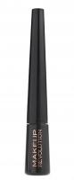 MAKEUP REVOLUTION - LIQUID EYELINER - ULTRA BLACK - Eyeliner w płynie