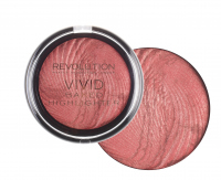 MAKEUP REVOLUTION - Vivid Baked Highlighter - Rozświetlacz - ROSE GOLD LIGHTS - ROSE GOLD LIGHTS