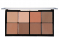 MAKEUP REVOLUTION - ULTRA PRO HD - POWDER CONTOUR - Pudrowa paleta do konturowania - MEDIUM DARK - MEDIUM DARK