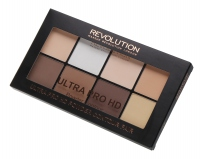 MAKEUP REVOLUTION - ULTRA PRO HD - POWDER CONTOUR - Pudrowa paleta do konturowania