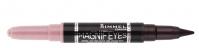 RIMMEL - MAGNIF'EYES DOUBLE ENDED SHADOW & LINER - Cień i eyeliner 2w1 - 005 - PINK & PURPLE RAIN - 005 - PINK & PURPLE RAIN