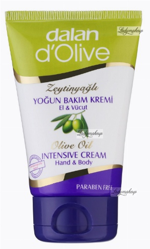 Dalan d'Olive - OLIVE OIL INTENSIVE CREAM Hand & Body - Intensywnie skoncentrowany pielęgnujący krem oliwkowy do rąk i ciała