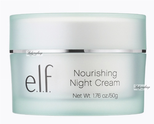 ELF - NOURISHING NIGHT CREAM WITH PURIFIED WATER AND SHEA BUTTER - Odżywczy krem na noc