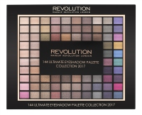 MAKEUP REVOLUTION - 144 ULTIMATE EYESHADOW PALETTE COLLECTION 2017 - Paleta 144 cieni do powiek