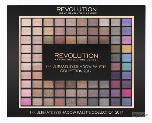 MAKEUP REVOLUTION - 144 ULTIMATE EYESHADOW PALETTE COLLECTION 2017 - Paleta 144 cieni do powiek