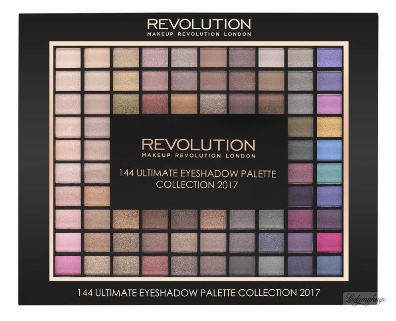 Makeup revolution 144 eyeshadow palette 2017