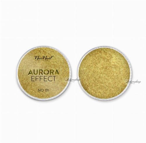 NeoNail - AURORA EFFECT - Pyłek do paznokci - Efekt zorzy polarnej