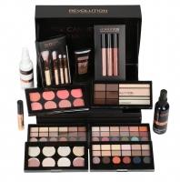 MAKEUP REVOLUTION - 12 DAYS OF CHRISTMAS STORAGE SET - Zestaw kosmetyków do makijażu