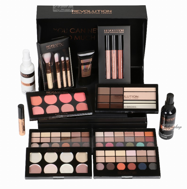 Makeup Revolution 12 Days Of Christmas Case Set