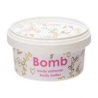 Bomb Cosmetics - Body Shimmer - Body Butter - Masło do ciała z 30% Shea - SUBTELNY BLASK
