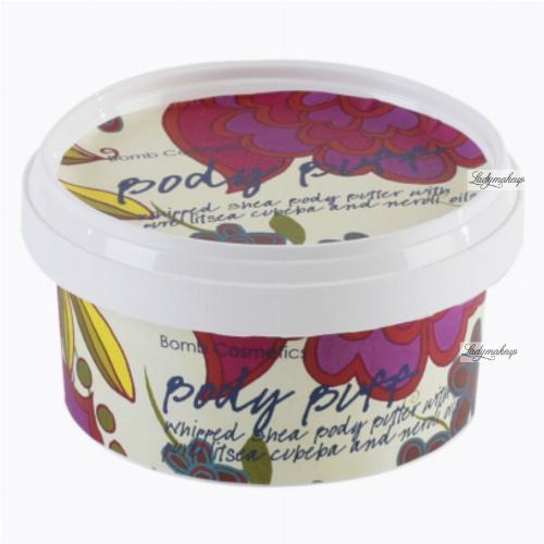 Bomb Cosmetics - Body Buff - Body Butter - Masło do ciała z 30% Shea - BITA ŚMIETANKA