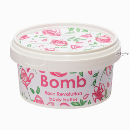 Bomb Cosmetics - Rose Revolution - Body Butter -  30% Shea