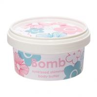 Bomb Cosmetics - Sunkissed Shimmer - Body Butter - Masło do ciała z 30% Shea - POCAŁUNEK SŁOŃCA
