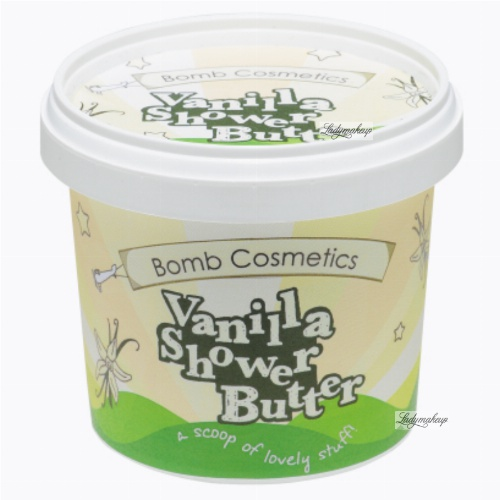 Bomb Cosmetics - Vanilla - Shower Butter - Shower lotion