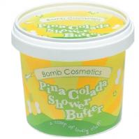 Bomb Cosmetics - PinaColada - Shower Butter - Myjące masło pod prysznic - PINA COLADA