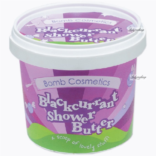 Bomb Cosmetics - Blackcurrant - Shower Butter