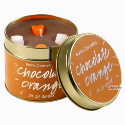 Bomb Cosmetics - Chocolate Orange Candle- Oh so sweet