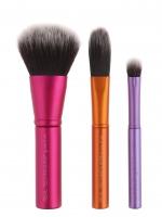 Real Techniques - Mini Brush Trio - Zestaw trzech mini pędzli do makijażu - 1416