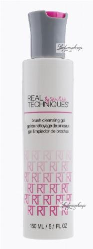 Real Techniques - Brush Cleansing Gel - Płyn do czyszczenia i dezynfekcji pędzli - 1470