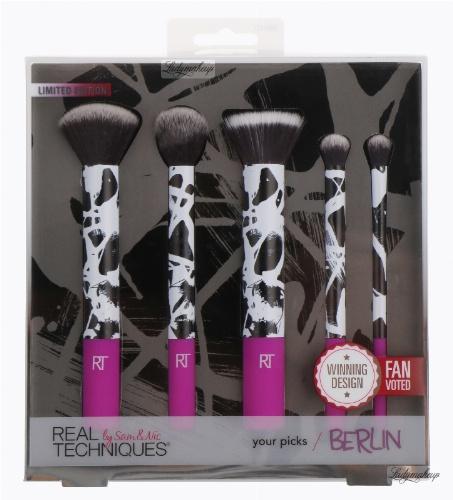 Real Techniques - Yours Picks Berlin - Limited Edition - Zestaw 5 pędzli do makijażu - EDYCJA LIMITOWANA - 1466
