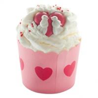 Bomb Cosmetics - Jar of Hearts - Deser kakaowy na 4 kąpiele - KOLEKCJA SERC