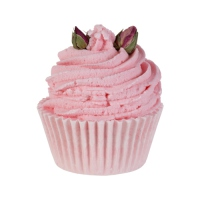 Bomb Cosmetics - Strawberry and Dreams Brulee - Moisturizing buttery bun for 6 baths