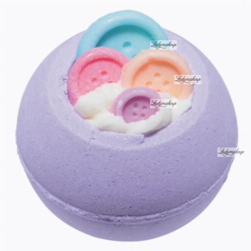 Bomb Cosmetics - Bomb-jamin Button - Musująca kula do kąpieli - GUZICZKI